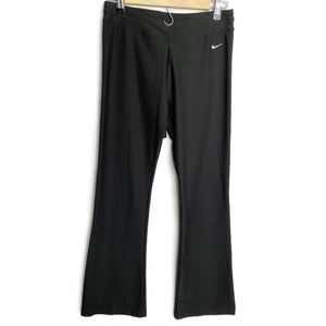 Women's Nike Fit Dry Black Flare Leg Workout Pants